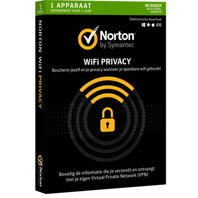 Norton Wifi Privacy 1 Apparaat