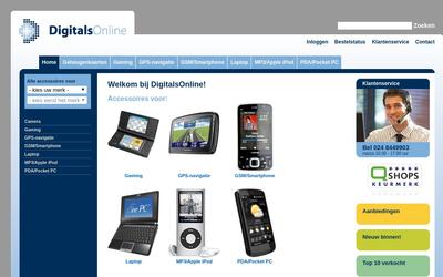 DigitalsOnline website
