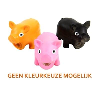 Doggy dolittles micro pig latex zwijn assorti