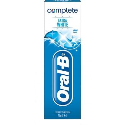 Oral B Tandpasta Complete Extra White