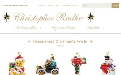 Christopherradko.com website