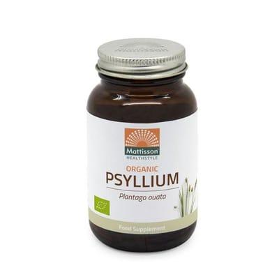 Psyllium Husk 750 mg biologisch