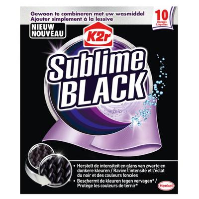 K2R Sublime Black 10 stuks