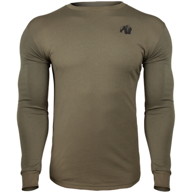 Gorilla Wear Williams Longsleeve Army Green 4XL