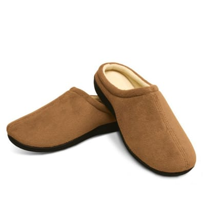 Relax Gel Slippers Brown Size M (39-40)