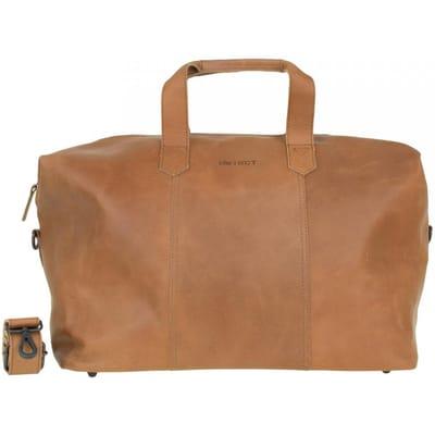DSTRCT Riverside Weekend Bag cognac