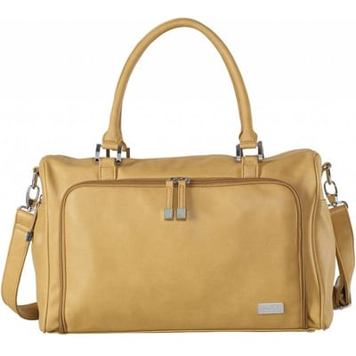Isoki Double Zip Satchel Camel