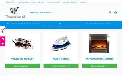 Thomaline.nl website