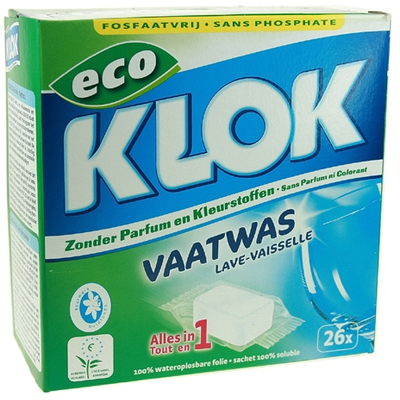 Klok Vaatwastab All In One