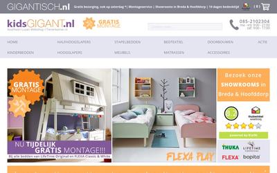 Kidsgigant website
