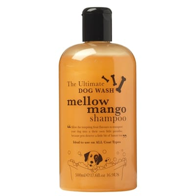 House of paws mellow mango shampoo
