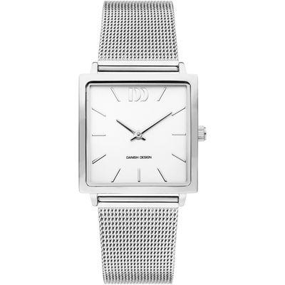 Danish Design IV62Q1248 horloge dames zilver edelstaal