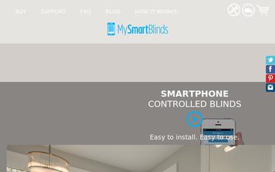 MySmartBlinds website