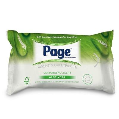 Page Vochtig Toiletpapier - Aloe Vera