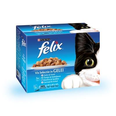FELIX Pouch Vis Selectie 12 x 100 gr