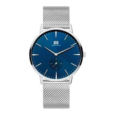 Danish Design IQ68Q1250 horloge heren zilver edelstaal