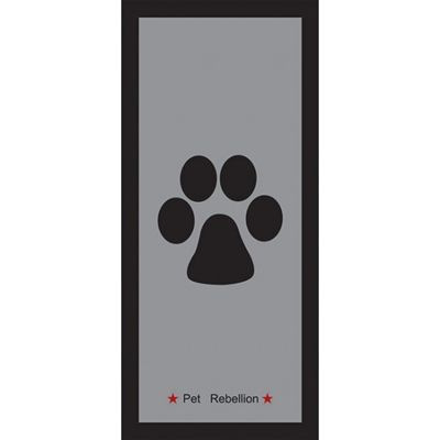 Pet rebellion schoonloopmat / deurmat stop muddy paws