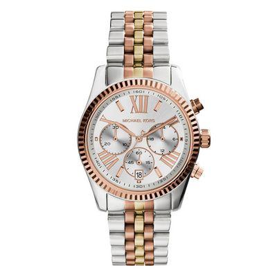 Michael Kors Lexington MK5735 zilver 5 Horloge staal en