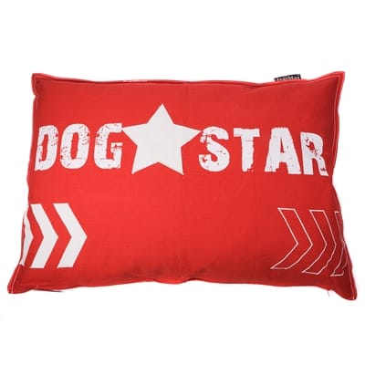 Lex Max Dog Star Hondenkussen Rood