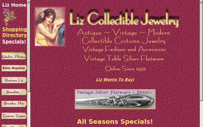 Lizjewel.com website