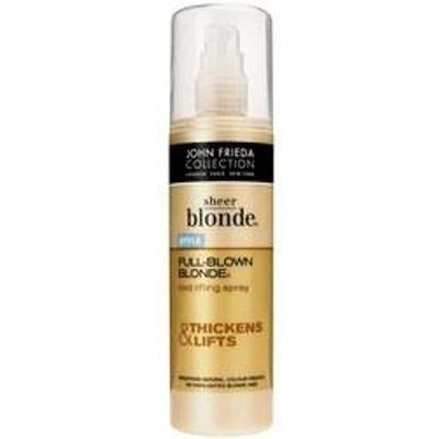 Full blown blonde root treatment