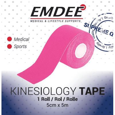 EMDEE kinesio tape roze non-cut