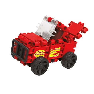 Clics Build en Play - Rode Racewagen
