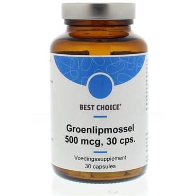 Groenlipmossel 500 mg