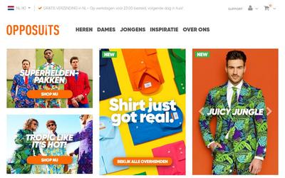 Opposuits website