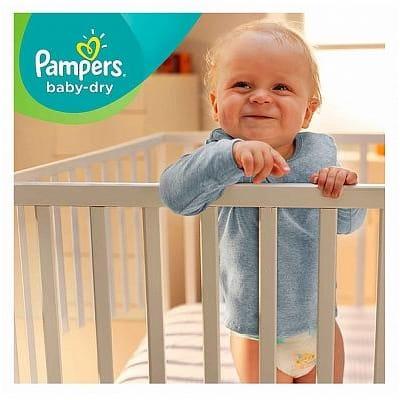 Pampers Baby Dry Maat 5 Kg 108