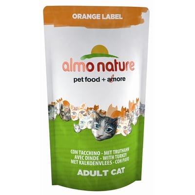 Almo Nature Cat Droog Orange Label Kalkoen 750 gr