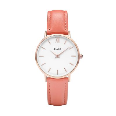 CLUSE Minuit Rose Horloge CL30045 Flamingo
