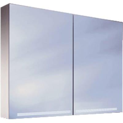 Schneider Graceline spiegelkast 100cm Aluminium