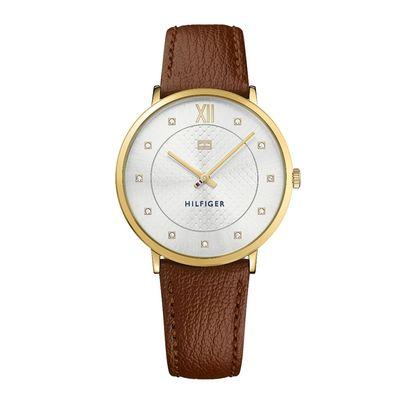 Tommy Hilfiger TH1781809 horloge dames bruin