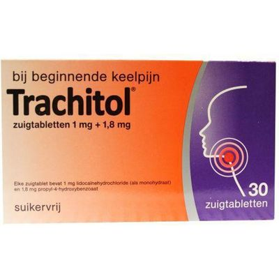 Trachitol keeltabletten