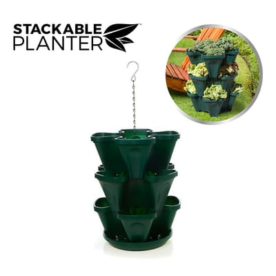 Stackable 3 Planter