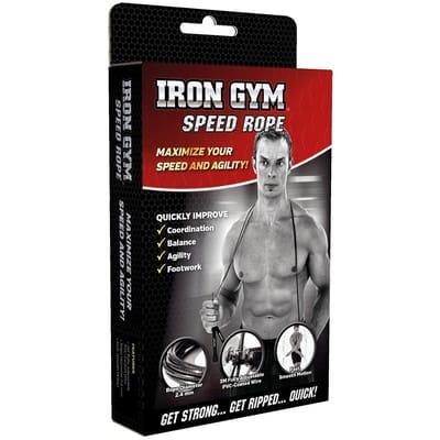 Iron gym speed rope