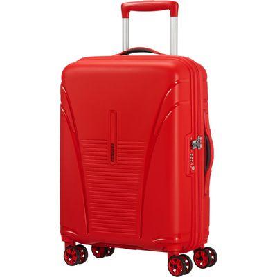 American Tourister Skytracer Spinner 55 formula red