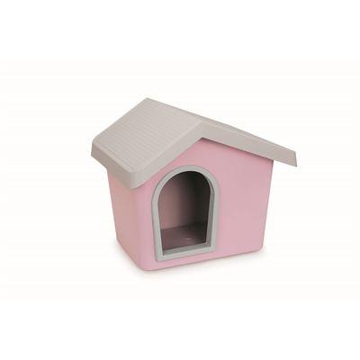 Imac hondenhok zeus 50 roze cm