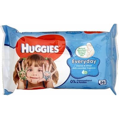 Huggies Babydoekjes Everyday 56 stuks