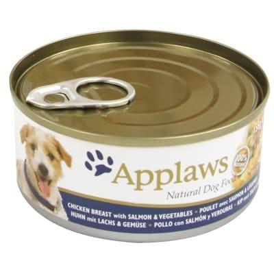 Applaws dog blik chicken salmon rice 156 gr