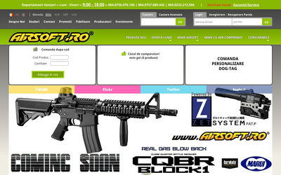 Arme Airsoft website