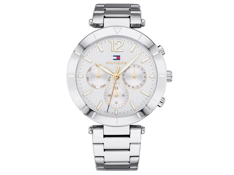 Tommy Hilfiger horloge zilver mm 1781877