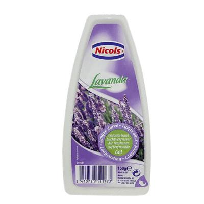Nicols Luchtverfrisser Gel - Lavendel 150gr