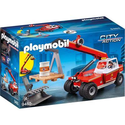 Playmobil 9465 brandweer hoogtewerker