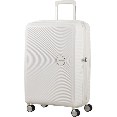 American Tourister Soundbox Spinner 67 EXP pure white