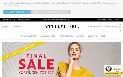 Anna van Toor website