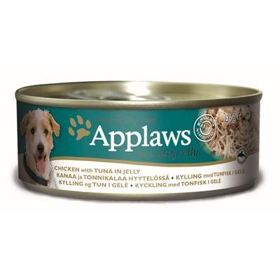 Applaws dog blik jelly chicken tuna