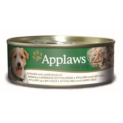 Applaws dog blik jelly chicken lamb