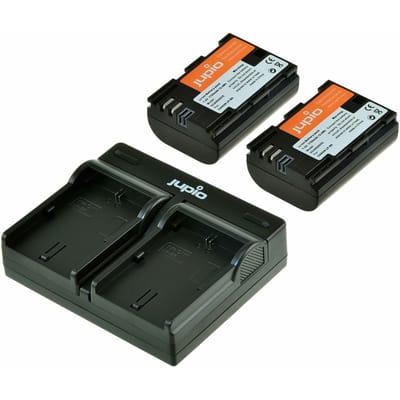 Jupio 2x Battery ULTRA 2040mAh USB DualCharger